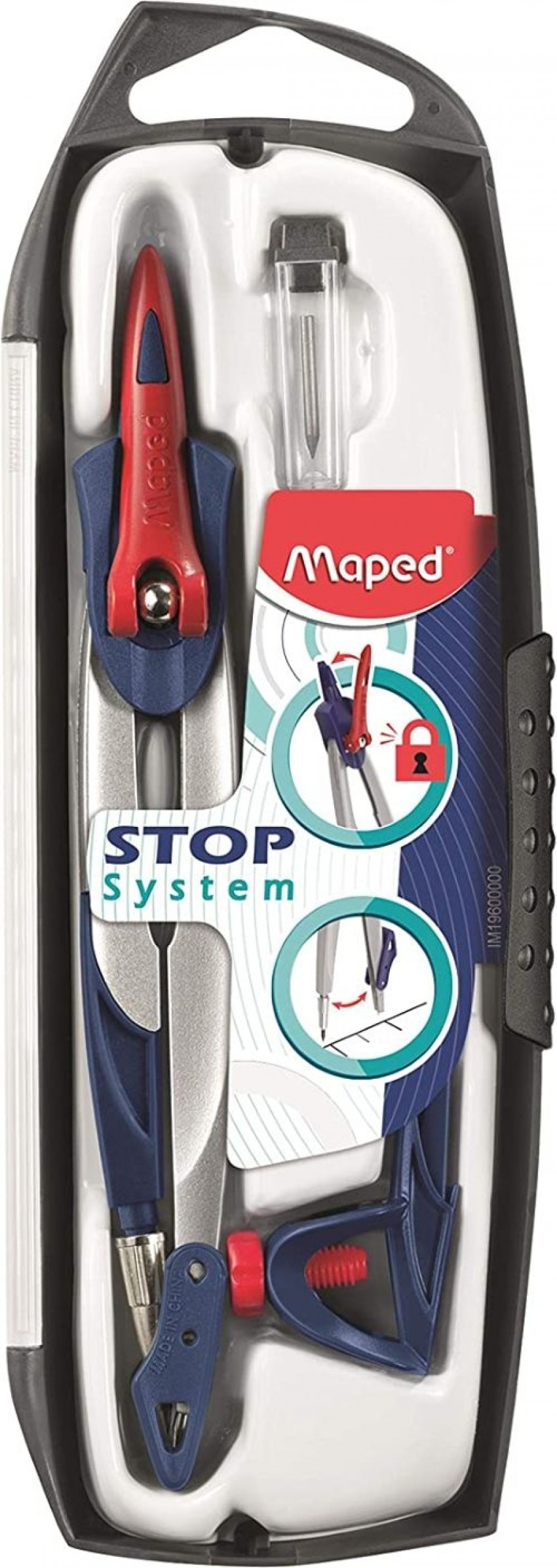 Exp 10 compases stop system con adaptador universal 1315414196102