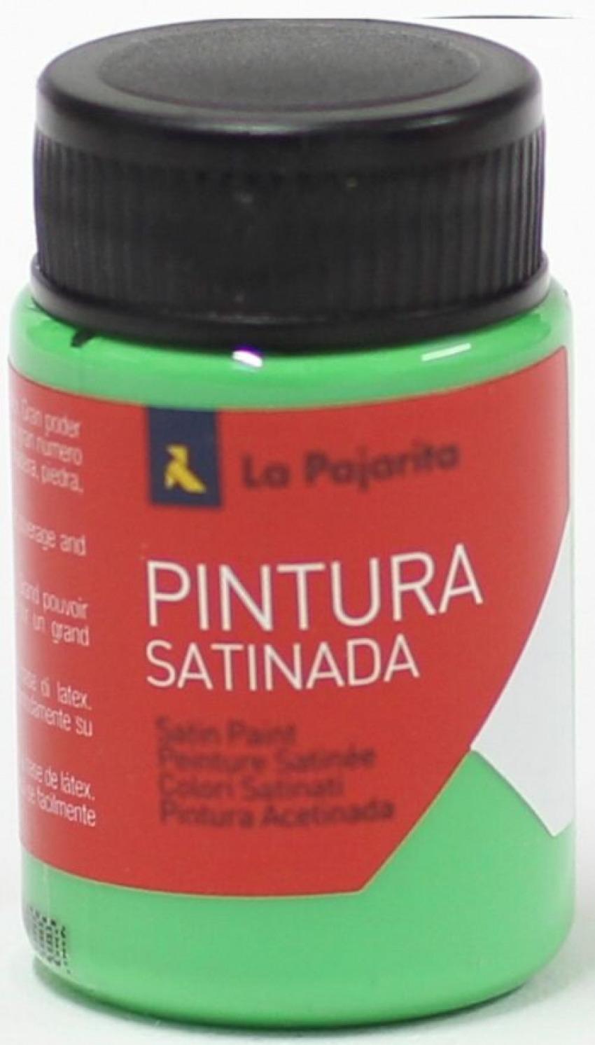 C/6 bote pintura satinada la pajarita verdde cesped base latex 1842345169726