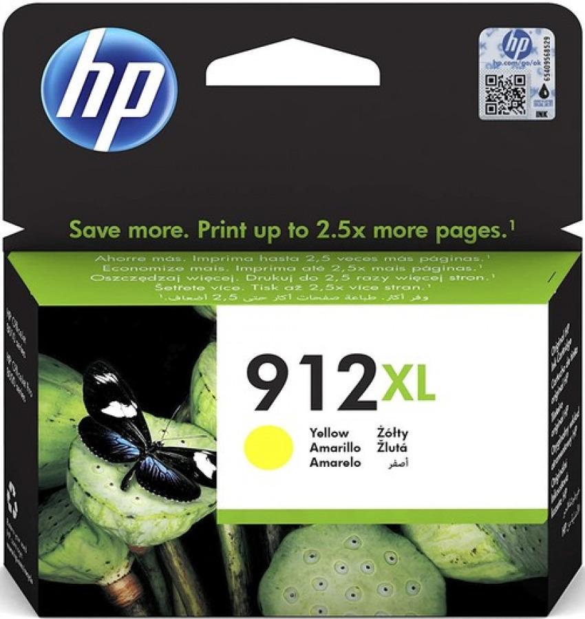CARTUCHO TINTA ORIGINAL HP 912XL AMARILLO 3YL83AE 1925458669588
