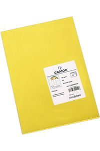 Paq/50 cartulinas a4 amarillo canario iris 3148954222516