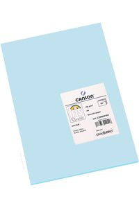 Paq/50 cartulinas a4 azul cielo iris 3148954222622