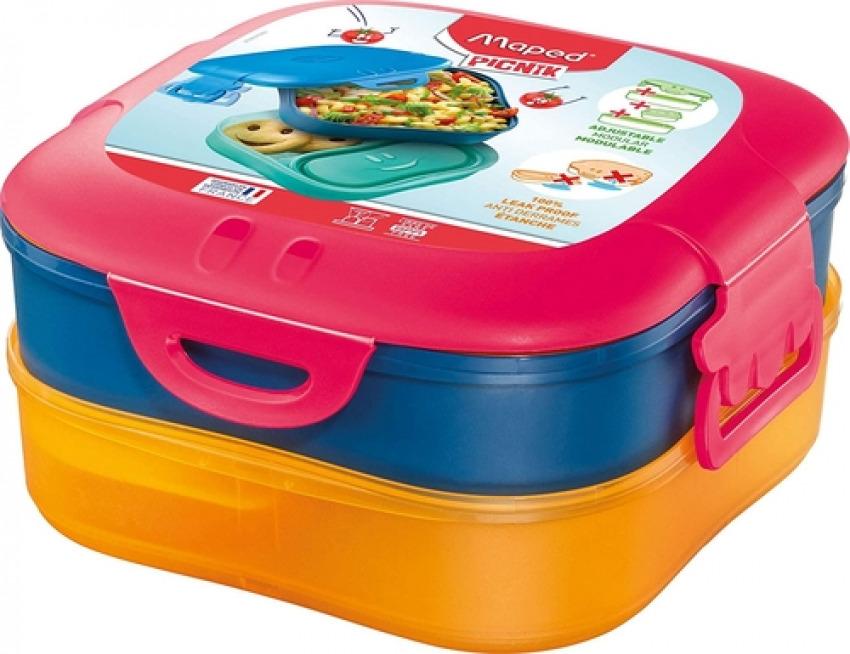 Tupper 3 en 1 kids concept rosa 3154148707011