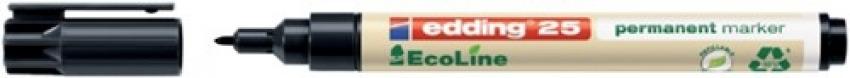 C/10 ROTULADOR EDDING ECOLINE NEGRO MARCADOR PERMANENTE 4004764957392