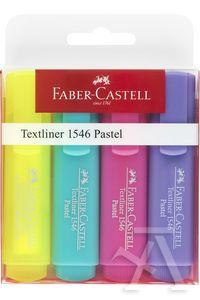 Estuche 4 marcadores fluorescentes texliner faber-castell 4005401546108