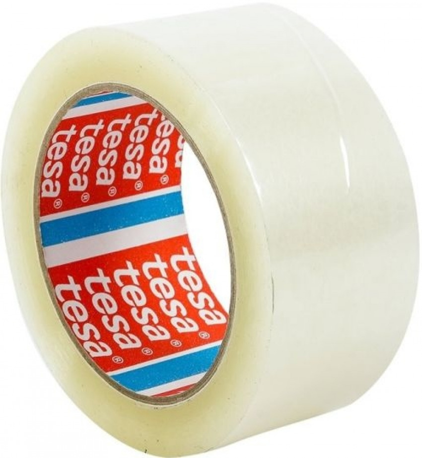C/6 Pack 6 rollos cinta embalaje transparente pp standard 66mx50mm 4005801094070