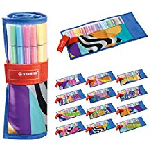 ESTUCHE 25 COLORES ROLLERSET STABILO PEN 68 JUST LIKE YOY