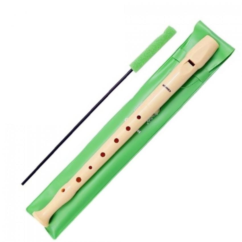 Flauta lisa hohner funda verde 4009126031680