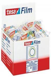 C/24 rollos tesafilm standard 33mX19mm bolsita tesa 4042448053374