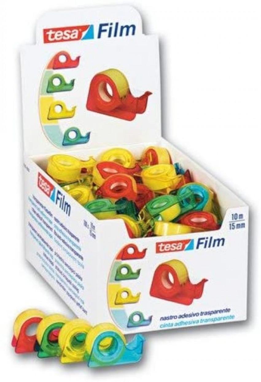 Expositor 100 mini portarrolos tesafilm standard 10mX15mm tesa 4042448099259