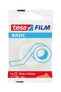 C/30 ROLLOS BASIC FILM TRANSPARENTE 33MX15MM BOLSITA TESA 4042448267320