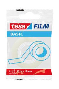 C/24 ROLLOS BASIC FILM TRANSPARENTE 33MX19MM BOLSITA TESA 4042448267368