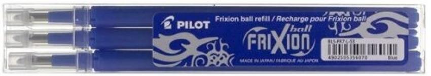 PACK/3 RECAMBIOS BOLIGRAFO PILOT FRIXION BALL AZUL 0,7MM 4902505356070