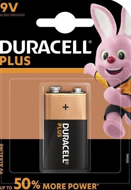 Blister pila duracell plus power 6 lr61 9v 5000394105485