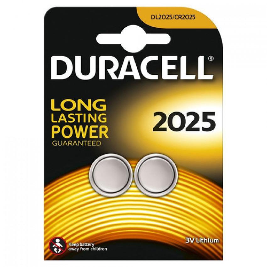 Blister 2 pila de boton duracell cr2025 5000394203907