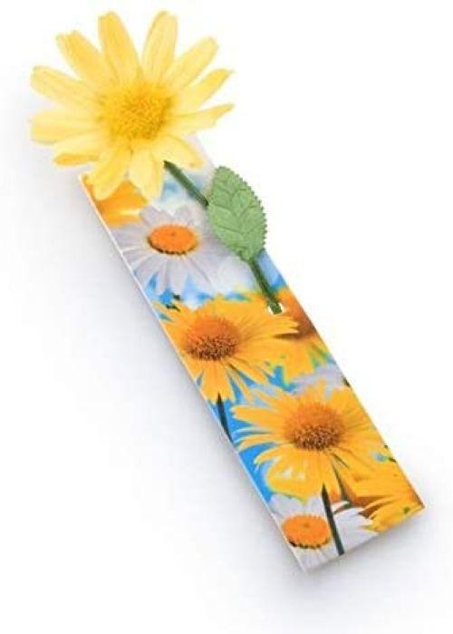 Marcapaginas flowermark amarilla 5060213011236