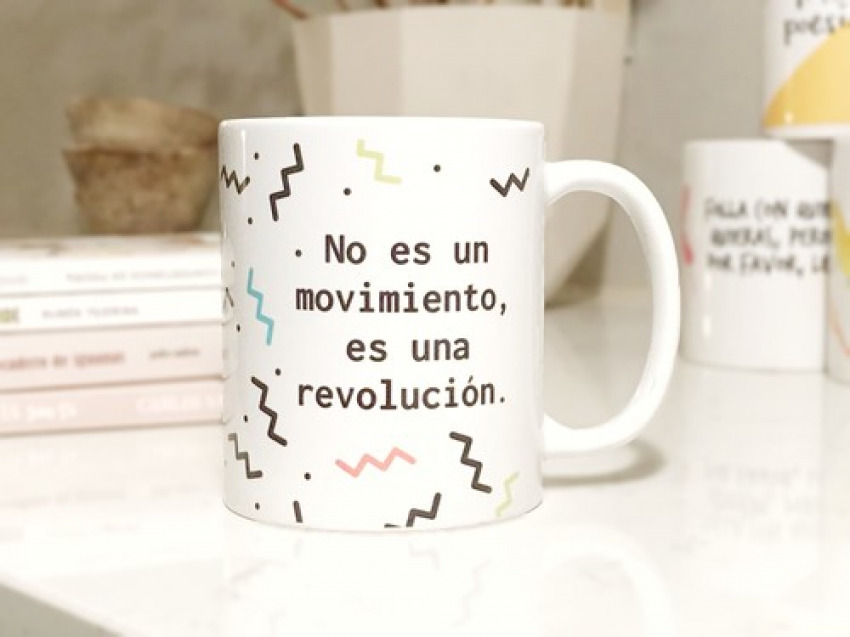 TAZA NO ES UN MOVIMIENTO, ES UNA REVOLUCIÓN 7428329737248