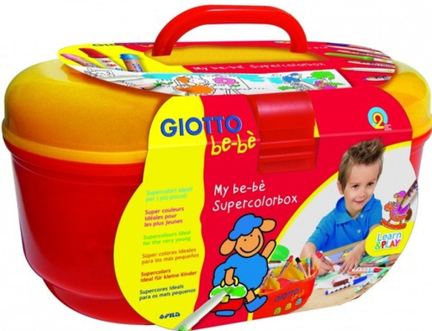 Set super color giotto be-be box