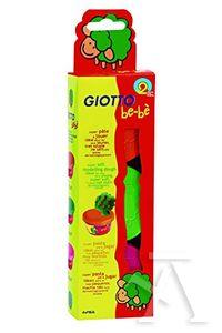 Pasta modelar Giotto Be-bè naranja, verde y rosa 8000825462511