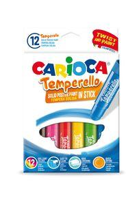 Estuche 12 colores tempera solida temperello 10g colores surtidos 8003511427184