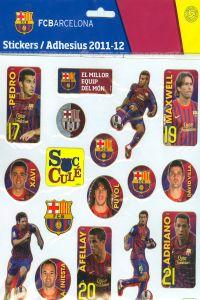 FC BARCELONA STICKERS 27X21 8018190047325