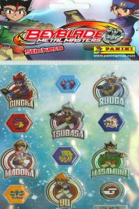 BEYBLADE STICKERS 105X205 8018190048063