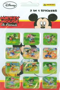 MICKEY &FRIENDS STICKERS 105X205 8018190048315