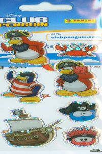 CLUB PENGUINS STICKERS 65X25 8018190049404