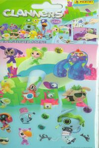 CLANNERS STICKERS 105X205 8018190050936
