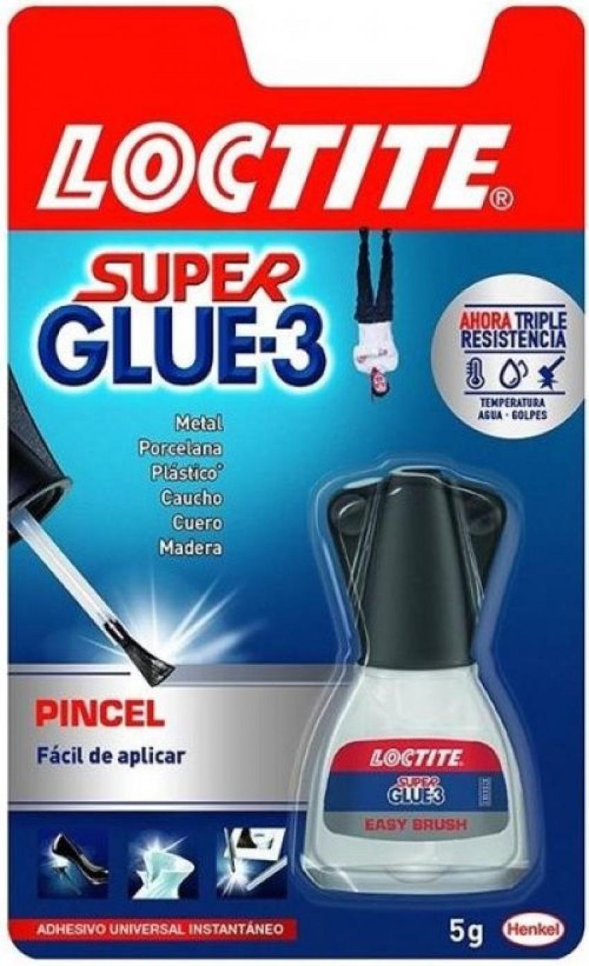Blister bote super glue-3 5 g. con pincel 8410020402104