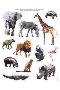 BOLSA 2 HOJAS GOMETS ANIMALES SABANA REMOVIBLE 8410782166214
