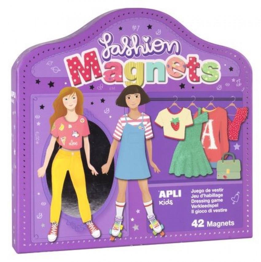 Juego magnetico para vestir y desvestir personajes 42 piezas 8410782172017