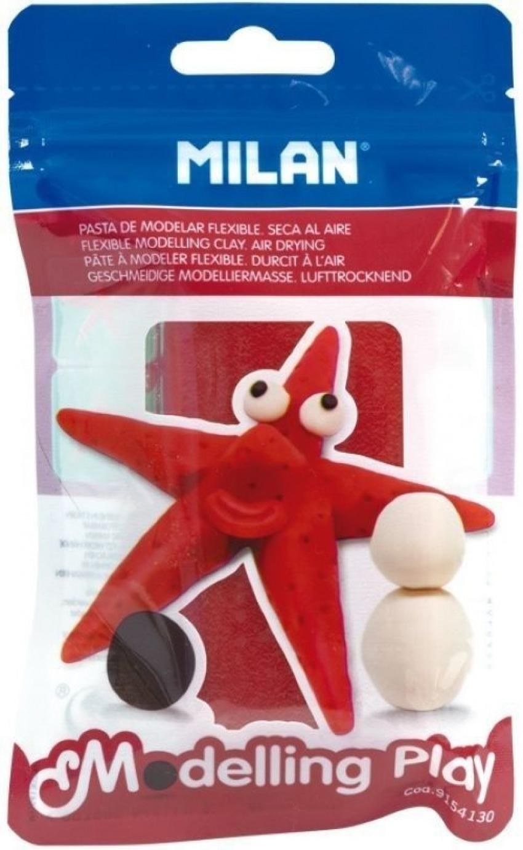 blister pasta para modelar rojo 100g modelling play 8411574088288