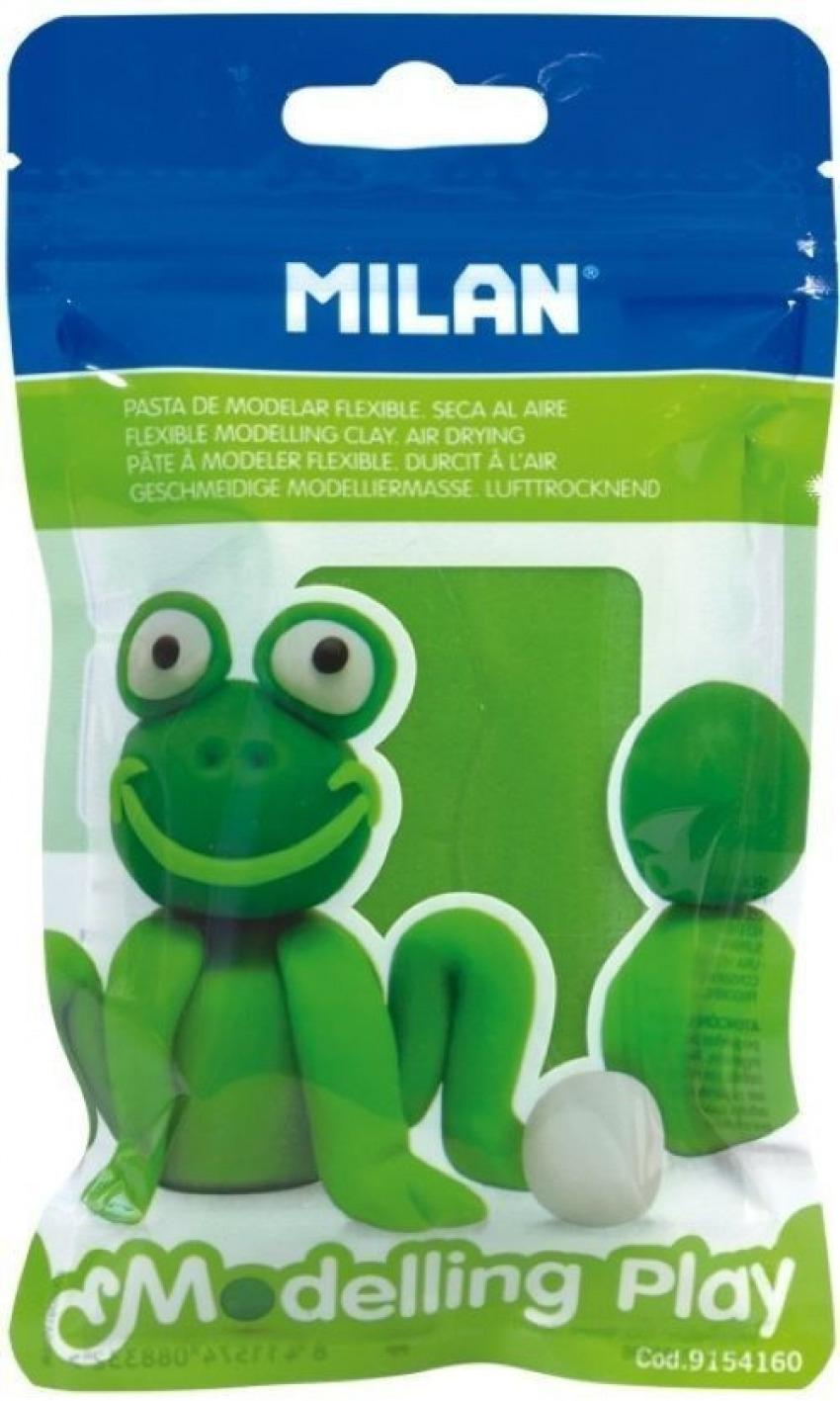 blister pasta para modelar verde claro 100g modelling play 8411574088332