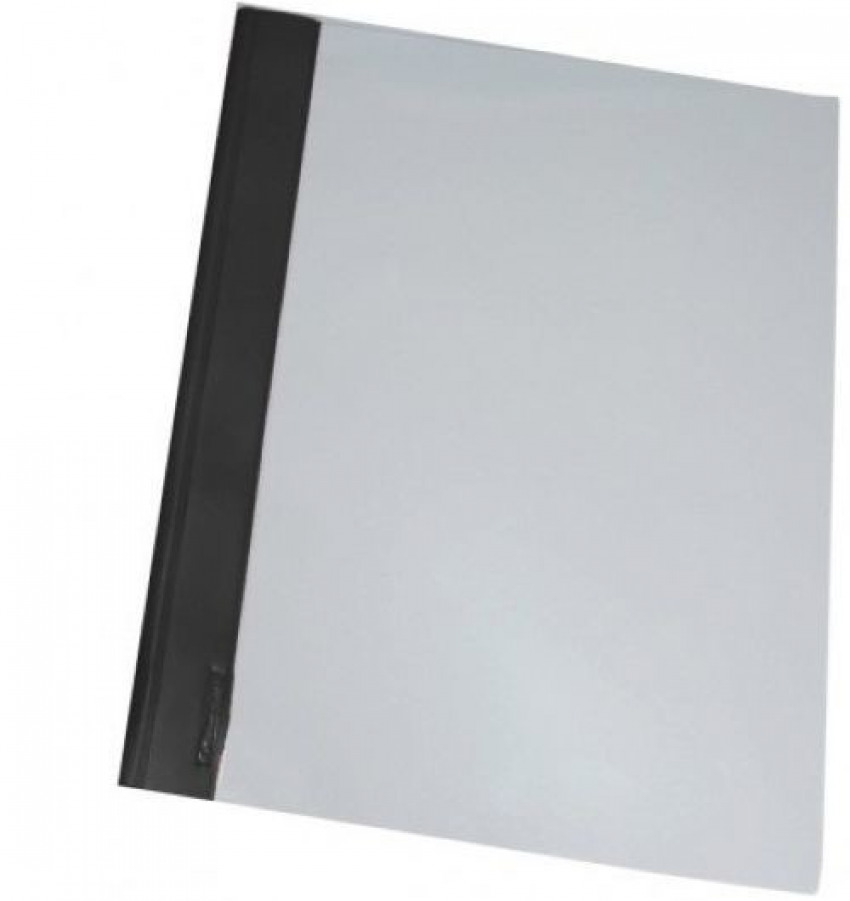 C/50 dossiers fastener a4 pvc negro 8411772126096