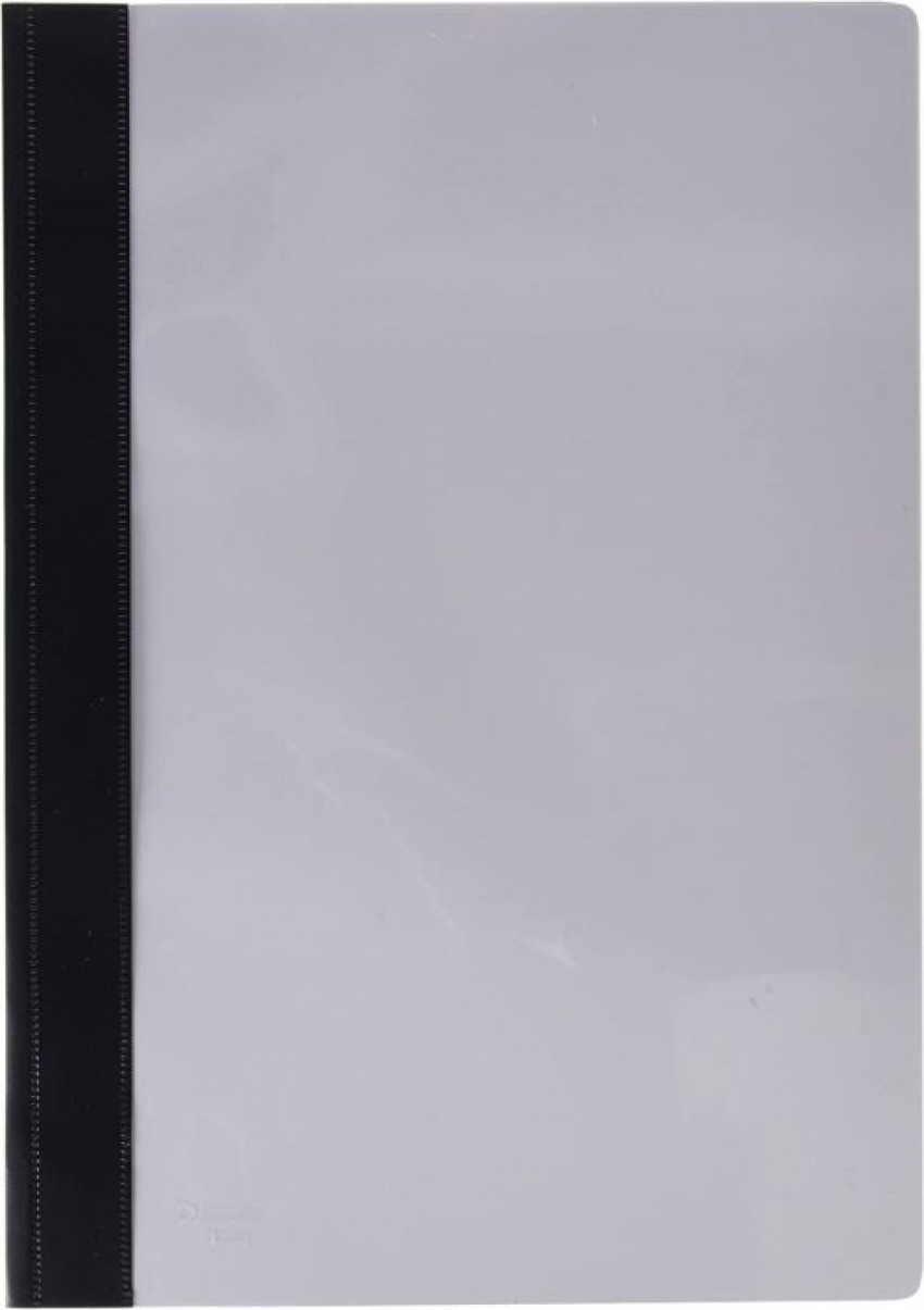 C/50 dossiers fastener fo. pvc negro 132/1 8411772132097