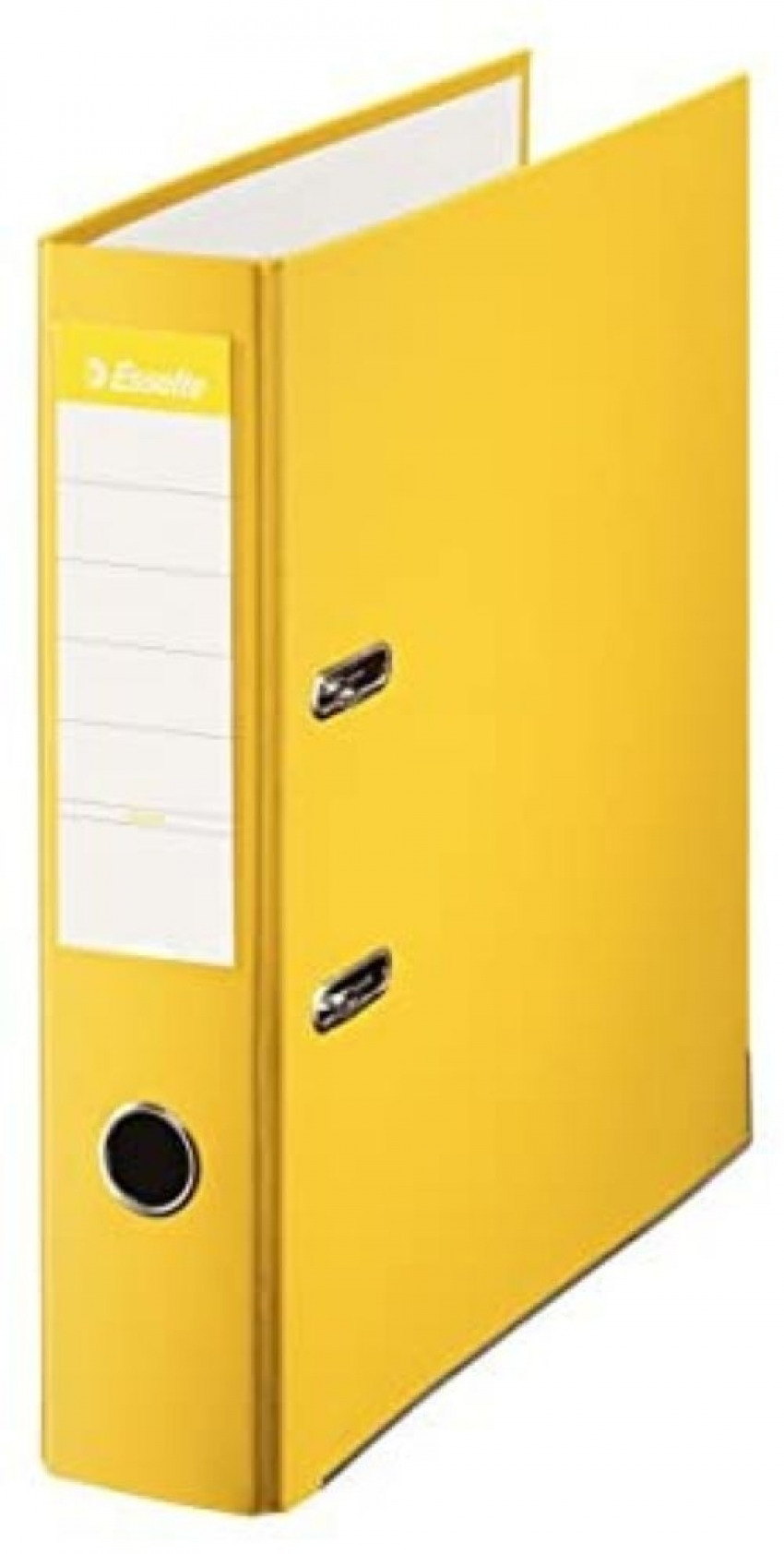 Archivador a4 palanca 75mm carton forrado plastico amarillo 8411772423324