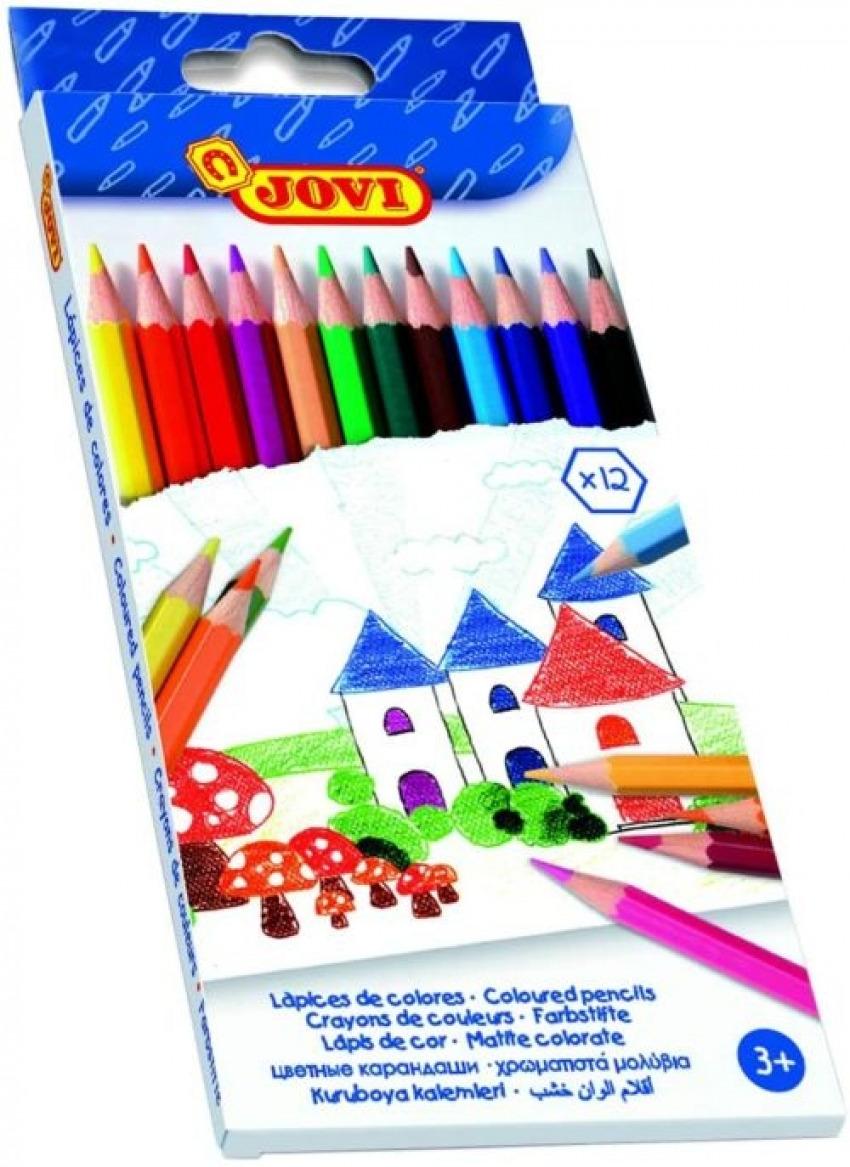 C/12 lapiz madera jovi colores 8412027002264