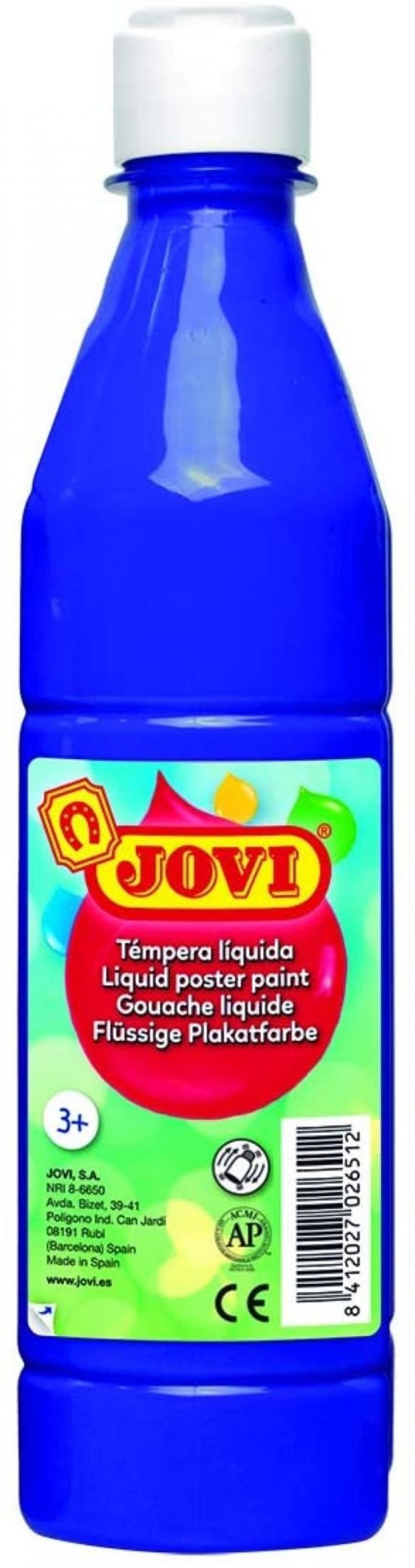 Bote tempera liquida jovi azul ultramar 500 ml 8412027003735