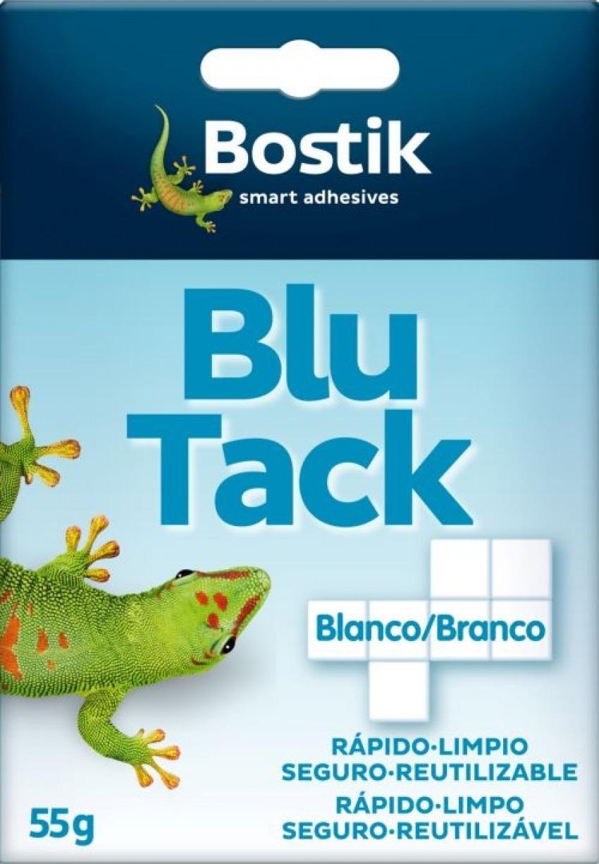 EXP 12 SOBRES BLU-TACK BLANCO CUARTEADO 55G 8412663356530
