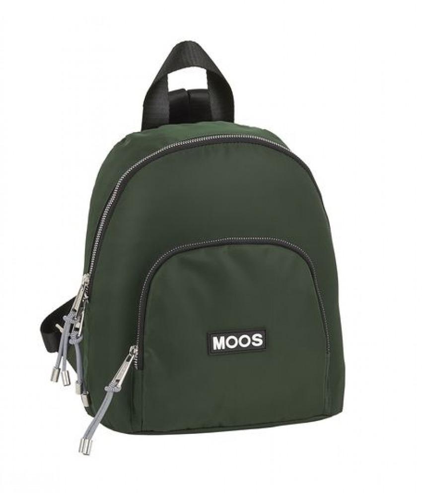 MINI MOCHILA MOOS CAPSULA GREEN 25x30x13cm 8412688365944