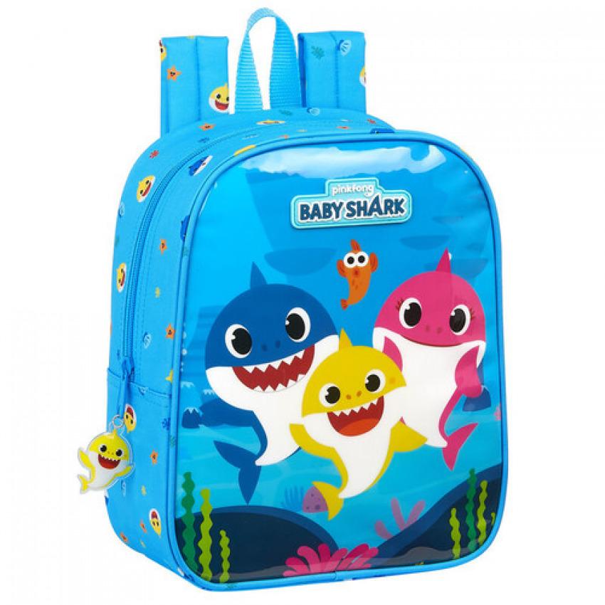 Mochila Baby Shark adaptabble 27cm 8412688381692