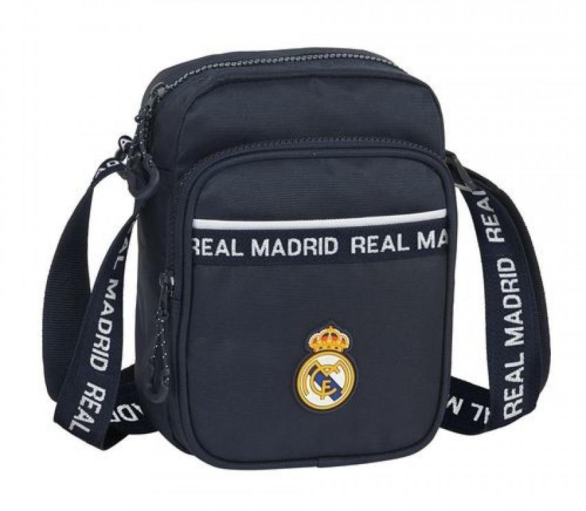 BANDOLERA PEQUEñA REAL MADRID 16x22x6cm 8412688392704