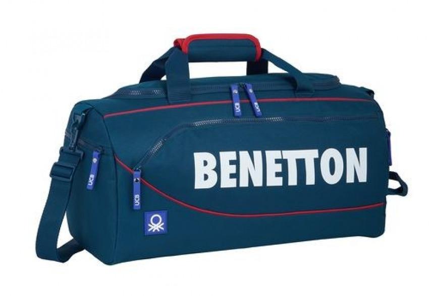 Bolsa Deporte BENETTON NAVY 50x25x25cm 8412688393503