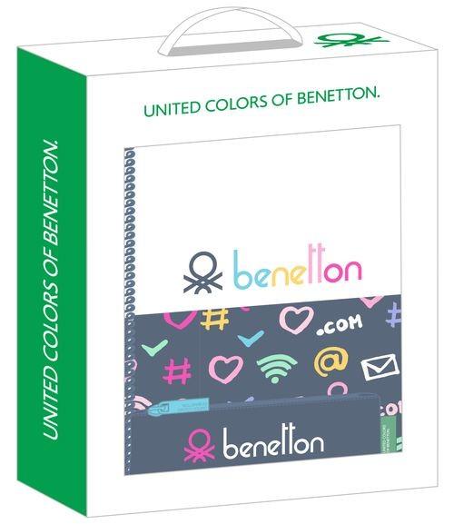 Set Regalo Pequeño BENETTON DOT COM 28x35x6cm 8412688395873