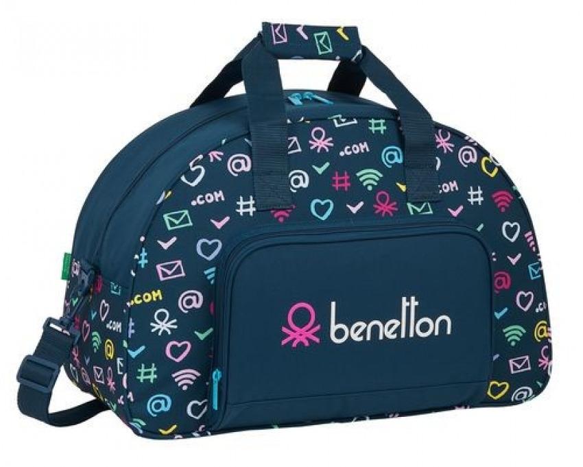 Bolsa Deporte BENETTON DOT COM 48x33x21cm 8412688396085