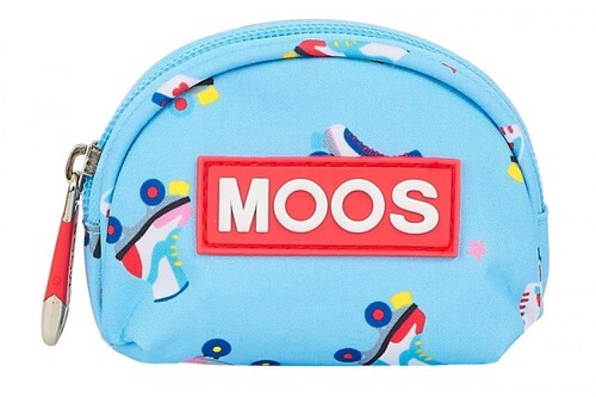 MONEDERO XS MOOS ROLLERS 9,5x2,5x7cm 8412688399178