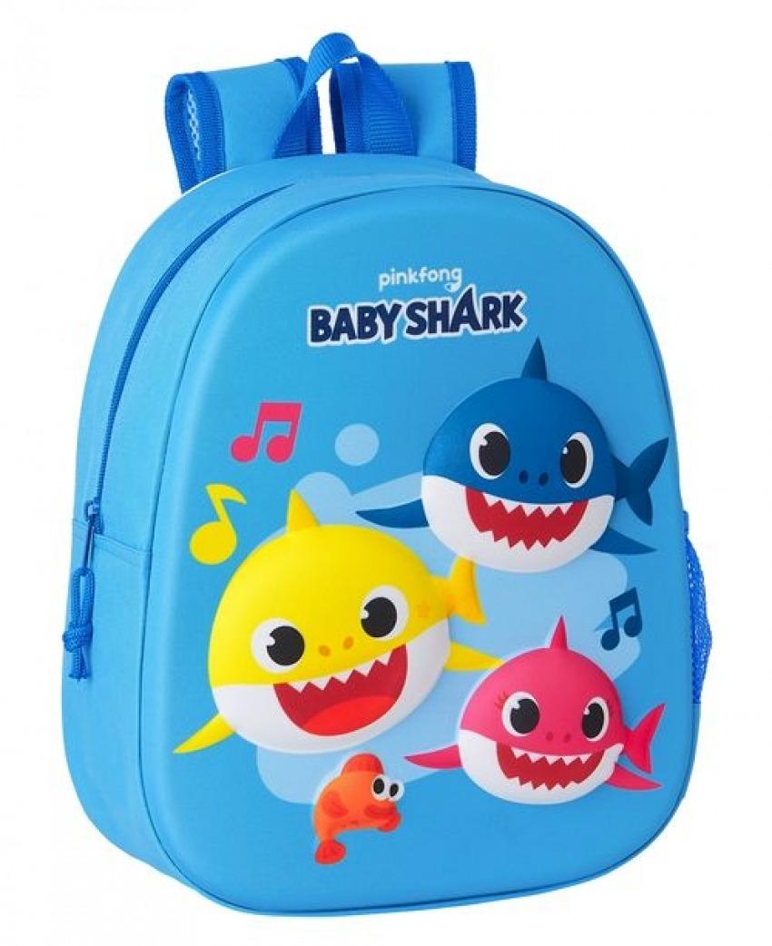 Mochila 3D BABY SHARK 8412688421220