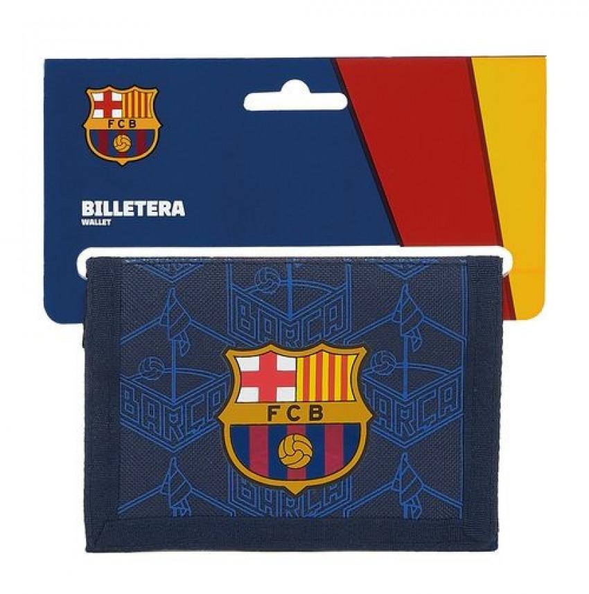 Billetera F.C. BARCELONA CORPORATIVA 12,5x9,5cm 8412688422388