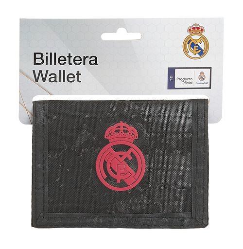 Billetera REAL MADRID 3a. equipacion 20/21 12,5x9,5cm 8412688427284