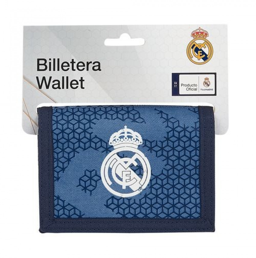 Billetera REAL MADRID CORPORATIVA 12,5x9,5cm 8412688427673